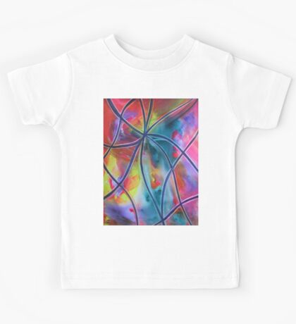 Faux -Stained Glass 1 Kids Tee