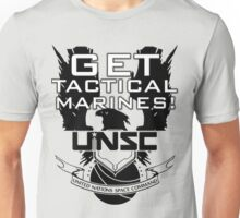 HALO - Get Tactical Marines! - UNSC Unisex T-Shirt