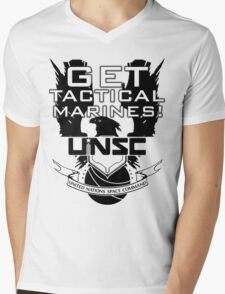 HALO - Get Tactical Marines! - UNSC Mens V-Neck T-Shirt