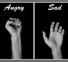 Emotion through Hand by Mark Lee