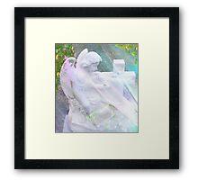 Dear God, Protect Our Friends ~ Angel Framed Print