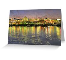 Cape Town Waterfront Greeting Card