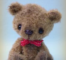 Happy Birthday Bear - Handmade bears from Teddy Bear Orphans by Penny Bonser