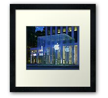 Apple Store 5th Avenue NYC Framed Print