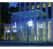 Apple Store 5th Avenue NYC Photographic Print