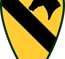 1st Cavalry Division (United States) by wordwidesymbols