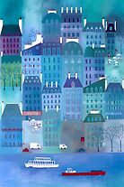 Paris Blues by Nic Squirrell