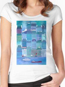 Paris Blues Women's Fitted Scoop T-Shirt