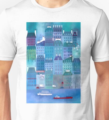 Paris Blues Unisex T-Shirt