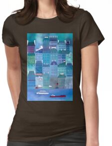 Paris Blues Womens Fitted T-Shirt