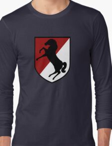 11th Armored Cavalry Regiment (US Army) Long Sleeve T-Shirt