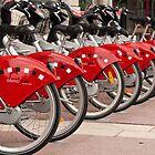 Rent a bike in Lyon by Robert Kelch, M.D.