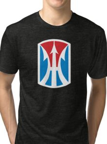 11th Infantry Brigade (United States - Historical) Tri-blend T-Shirt