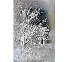 Snow on snow - Icy cold Photographic Print