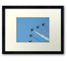 Red Arrows 2010 Framed Print