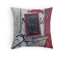 A little bit French Throw Pillow