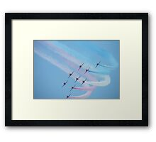 Arrows Nine Framed Print