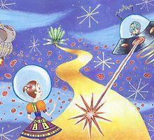 Sci Fi Wizard of Oz by Molly Eschbacher
