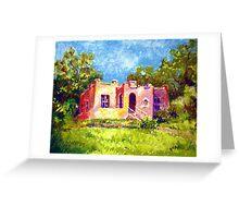 LITTLE HOUSE ON JOPLIN AVENUE Greeting Card