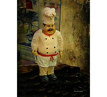 The chef - Lost in the past Photographic Print