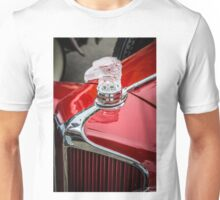 Eagle Hood Ornament / Radiator Cap on Early Cord Unisex T-Shirt