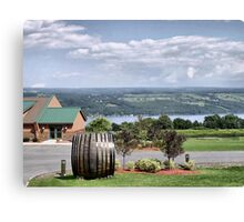 Glenora Wine Cellars Canvas Print