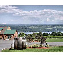 Glenora Wine Cellars Photographic Print