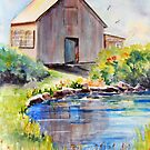 Art Barn on Star Island by Barbara  Borsa
