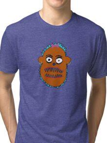 Boris in Brown, Texture like Sun Tri-blend T-Shirt