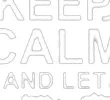 Keep Calm and Let Jeremy - T - Shirts & Hoodies Sticker