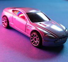 Aston Martin V8  Toy Model by rhian mountjoy