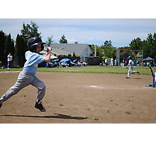 making it to first base Photographic Print