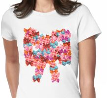 All about Bows Womens Fitted T-Shirt