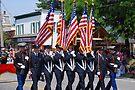 Firefighters Honor Guard by John Schneider
