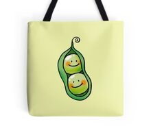 cute 2 peas in a pod Tote Bag