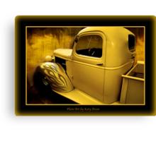 Lemony Yellow (2) Canvas Print
