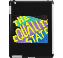 The Equality State iPad Case/Skin