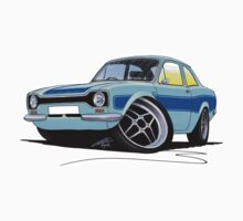 Ford Escort (Mk1) RS2000 LBlue by Richard Yeomans