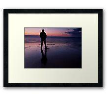 One Last Look Framed Print
