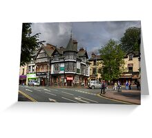 A corner in Bowness Greeting Card
