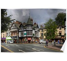 A corner in Bowness Poster
