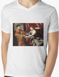 Chanel S/S 1630 Mens V-Neck T-Shirt