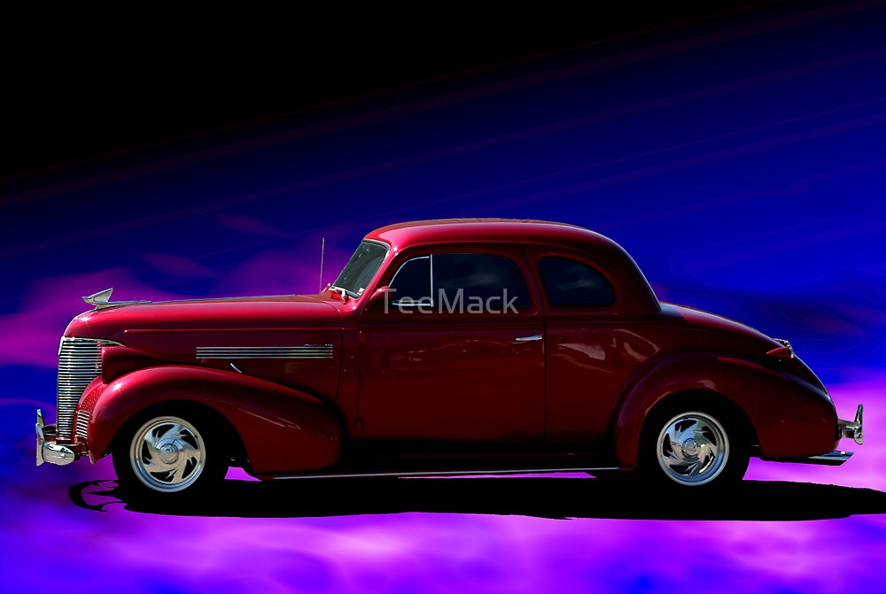 1939 chevrolet 2 door coupe by teemack redbubble for 1939 chevy 2 door