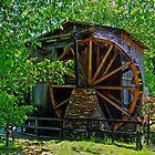 The Olde Waterwheel by Susan Blevins