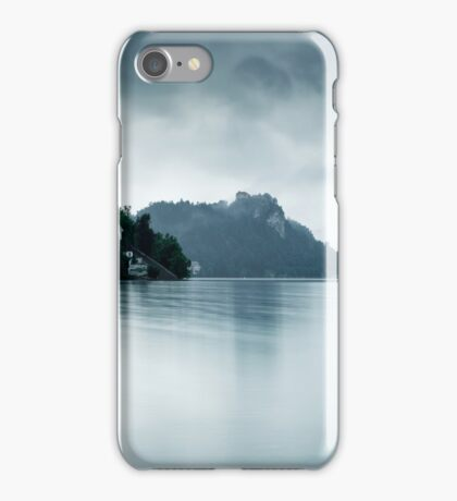 After the rain at Lake Bled iPhone Case/Skin