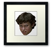 "Freaks And Geeks ""Stink Face"" Framed Print"