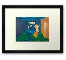 The Birth of Green Framed Print