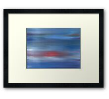ABSTRACT 497 Framed Print