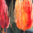 Fire Trees by Rebecca Tripp