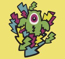 Neon Mutant Owls Baby Tee
